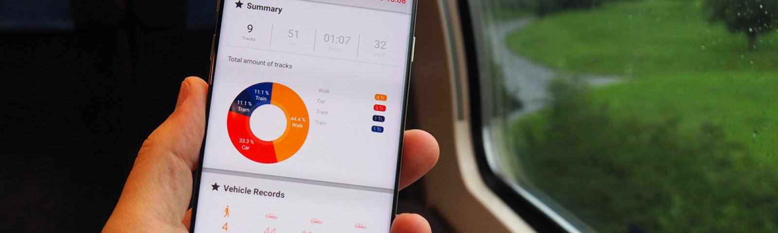Die App «SBB DailyTracks»
