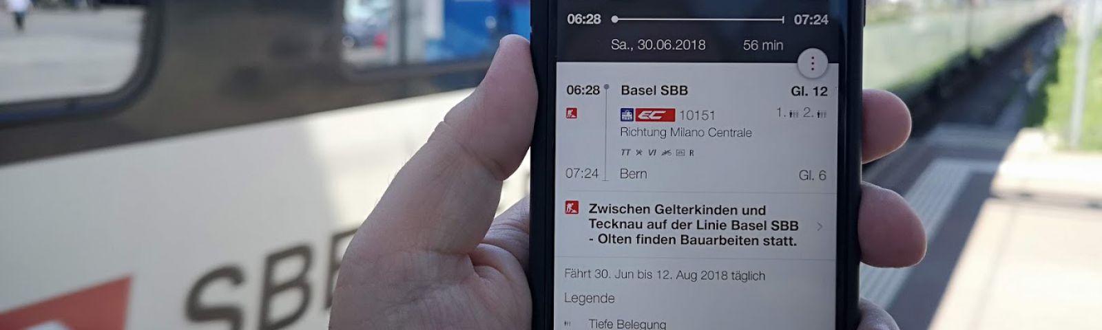 Sommerfahrplan 2018 Verbindungen Online Prüfen Sbb News